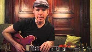 Tighten Up Your Blues - #8 Fills by Yourself - Guitar Lesson - Jeff McErlain
