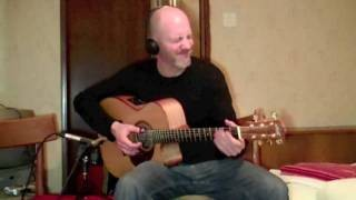 "Adam Rafferty - Solo Fingerstyle Blues Guitar - ""Little Fingers"" New Version"