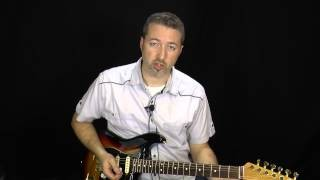 Slow Blues Licks - #4 Stevie Ray Vaughan - Guitar Lesson - Anthony Stauffer (StevieSnacks)