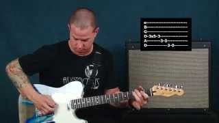 Country guitar lesson old school sounds with phaser Hank Williams inspired chords licks fills scales