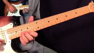 Crossfire Solo 1 - Stevie Ray Vaughan - Fast and Slow