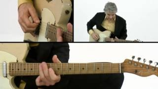 Sonic Tele - #15 Country Train Breakdown - Guitar Lesson - Jim Campilongo