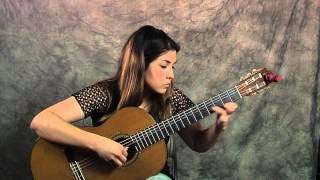 Milonga classical guitar