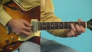 Jazz Guitar Lesson: 1-6-2-5 Comping Style