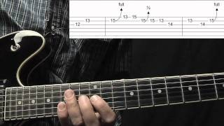 B.B. King Style Blues Lick Lesson