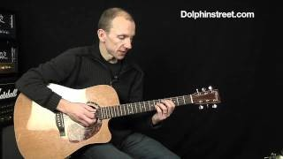 Acoustic 4 Chord Progression Lesson