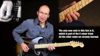 Stretching The Blues - Lesson #4 - the Major 2nd