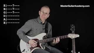 Slow Blues Guitar Lesson - Sakta Ned