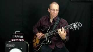 Blues Guitar Rhythm Lesson