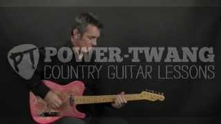 How to Play Swing by Trace Atkins country guitar lesson Chicken Pickin'