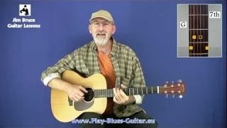 Acoustic Blues Guitar Lessons - Thumb Control Lesson #23 - Lady Madonna Part 1