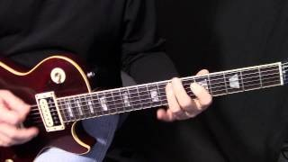"how to play ""Black Dog"" by Led Zeppelin on guitar - rhythm guitar lesson"