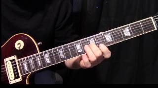 "how to play ""You Shook Me All Night Long"" by AC/DC - guitar solo lesson"