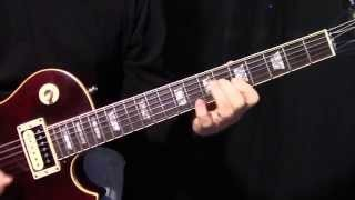 "how to play Crossroads by Cream_""Eric Clapton""- intro and first guitar solo lesson"