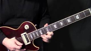 "how to play ""Anyway You Want It"" by Journey - guitar solo lesson"