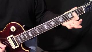 how to play Maps by Maroon 5 - electric guitar lesson - intermediate