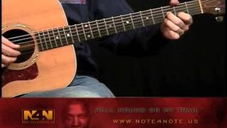 Robert Johnson-Hell Hound On My Trail DVD Guitar Lesson Sample