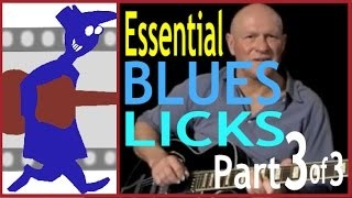 Essential Blues Licks (Part 3 of 3)