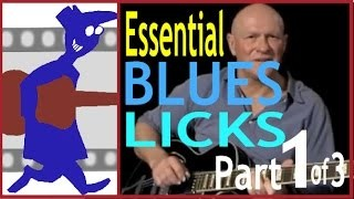 Essential Blues Licks  (Part 1 of 3)