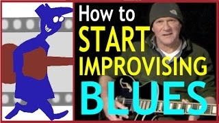 How to Start Improvising Blues