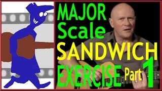 Major Scale Sandwich Exercise Part 1