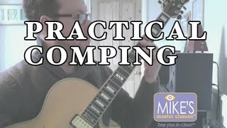 A Guide to Practical Jazz Guitar Comping part II | Jamie Taylor