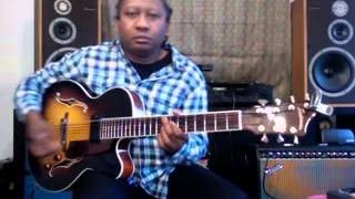 Comping In The Swing Style The Count Basie Rhythm Guitar Lesson by Ron Jackson