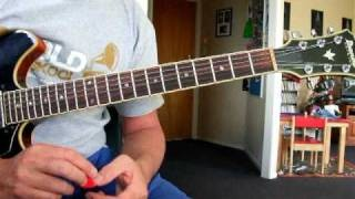 Dix Nacey Jazz Guitar Lesson 37 - Comping on Ornithology for Jujutay 2