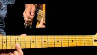 50 Texas Blues Licks - #19 Double Stop Lenny - Guitar Lesson - Corey Congilio