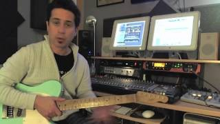 Blues Rhythms - #1 - Guitar Lesson - Corey Congilio