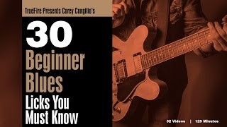 Corey Congilio's 30 Beginner Blues Guitar Licks You MUST Know - Intro