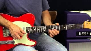 How To Solo Melodically On The Guitar - Guitar Lesson - Melodic Blues Rock Soloing