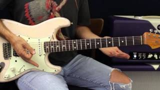 How To Play Major Pentatonic Scales - Guitar Lesson - Blues Rock Soloing