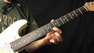 Buddy Guy Style Guitar Lick Lesson
