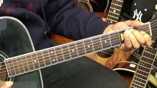 Old School 12 Bar Blues Guitar Lesson #8 Eric Clapton Style Chords EricBlackmonMusicHD