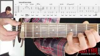 Tears in Heaven by Eric Clapton - Guitar Lesson & TAB - How