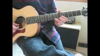 Guitar Lesson: Eric Clapton Acoustic Blues
