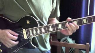 A Blues Lick in the style of Eric Clapton (11)