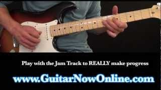 Eric Clapton Inspired EASY BLUES Guitar Lesson