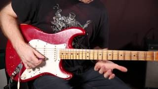 Jazz Fusion Guitar Lesson  - Playing Outside with Oz Noy