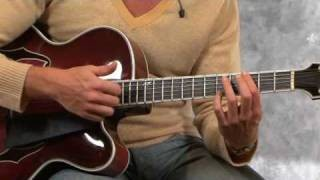 Jazz Guitar Lessons with Andreas Oberg: Harmonics