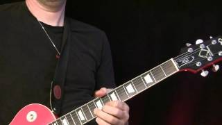 Guitar Lesson - American Blues Rock