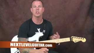 Learn how to play Lamb Of God inspired riffing and heavy rock and metal rhythms guitar lesson