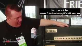 Sweetwater Gearfest Friedman amplification guitar tube amps info and demos small box BE 100 SS 100