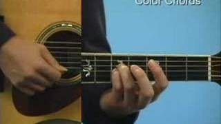 Guitar Lesson: Basic Color Chords