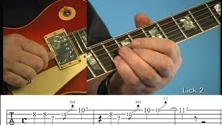 Melodic Blues Guitar Lesson