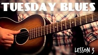 Finger Picking Exercise to Build Thumb Independence | Tuesday Blues #003