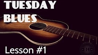 Using the A7 Chord for Blues | Tuesday Blues Lessons #001