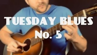 How to Connect 3 Minor Pentatonic Boxes in E | Tuesday Blues #005