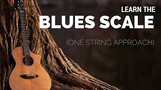 Learn the Blues Scale Using the Single String Approach | Tuesday Blues 040